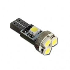Műszerfal világítás LED fehér 5 SMD Canbus T5