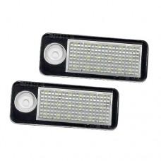 LED Rendszámtábla világítás szett Audi Q7
