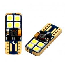 LED fehér 8 SMD Canbus BAX9s