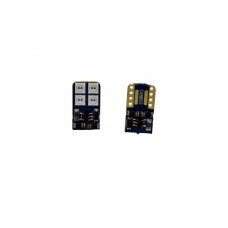 8 LED SMD Canbus (piros, w5w)