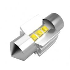 3 CREE LED szofita 36mm (fehér)