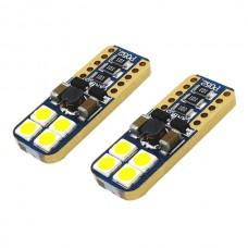 8 LED SMD Canbus (fehér, w5w)
