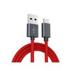 Xiaomi Mi Braided USB Type-C kábel 100cm - Piros