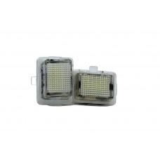 LED Rendszámtábla világítás szett (Mercedes W204, W204 5D, W212,W216,W221)